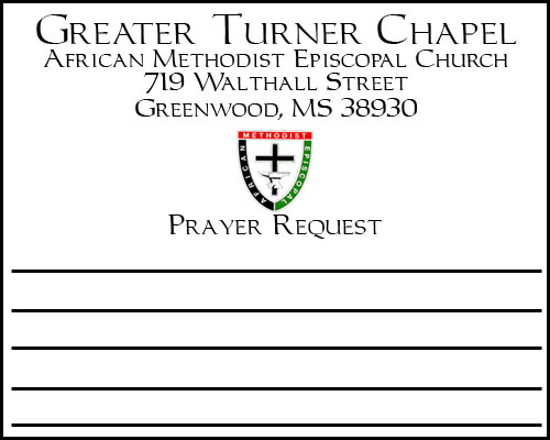 Greater Turner Chapel A.M.E.C. - Greenwood, Ms : Downloads